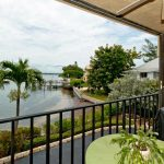 Bay Winds offers water views