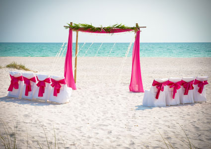 Beach Wedding on Anna Maria Island