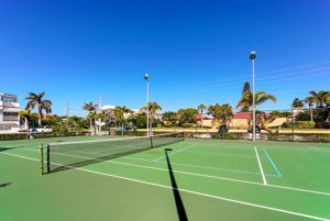 Nautilus Tennis Courts