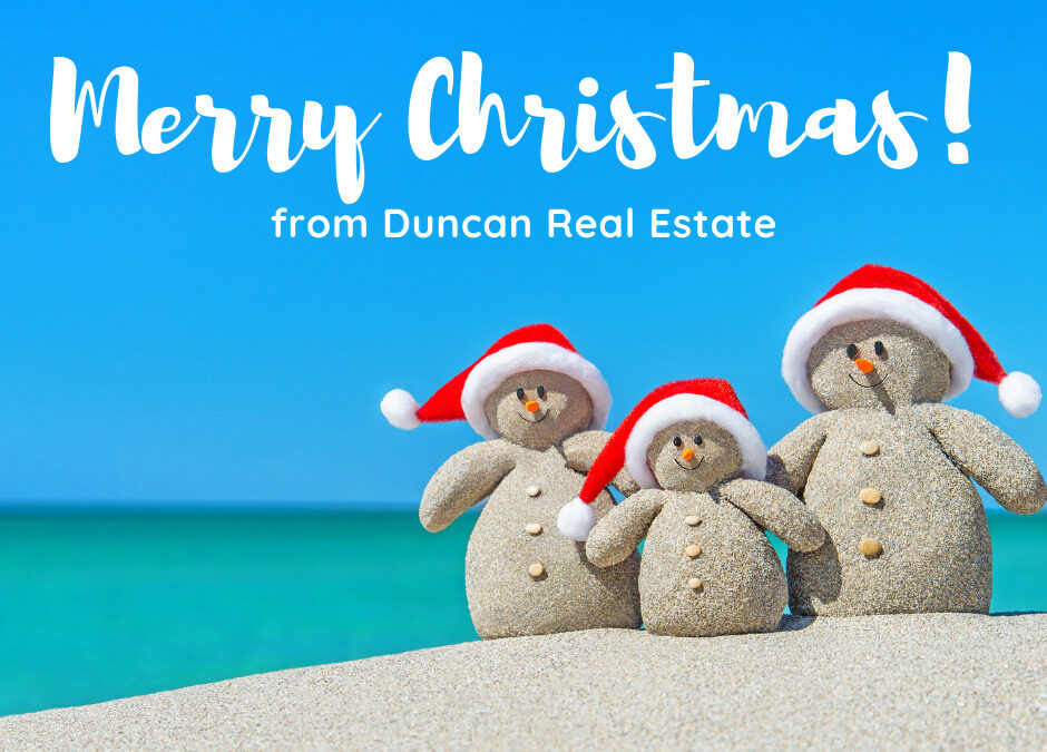 Merry Christmas Duncan Real Estate